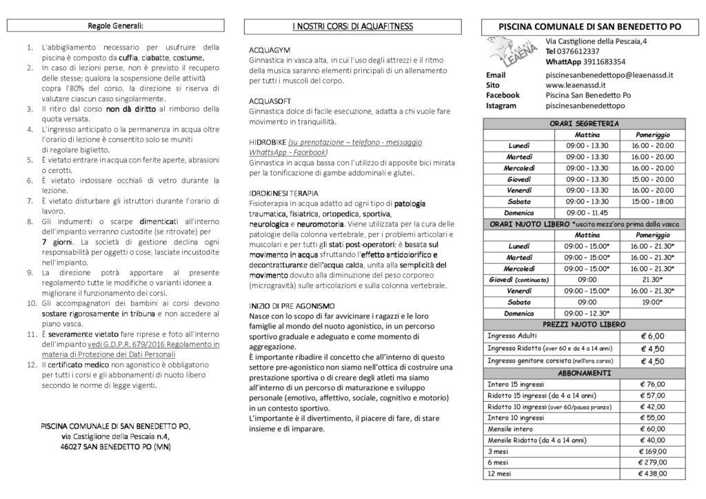 volantino 2019 - 2020 pieghevole-001